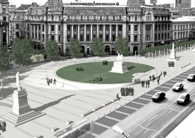 Universitate Square Bucharest Remodeling