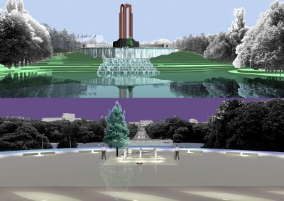 Heroes of the People Memorial Design